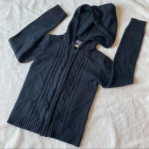 (2) Izod Approved Schoolwear Cardigan with Hoodie